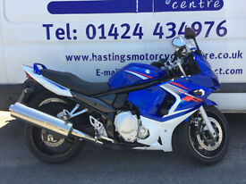 Suzuki GSX650F / Nationwide Delivery / Finance Just 3527 miles from new!