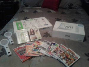 Console Wii et Wii Fit Plus