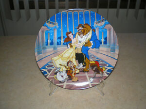 """~BEAUTY AND THE BEAST """" LOVE'S FIRST DANCE """" E.M. KNOWLES PLATE~"""