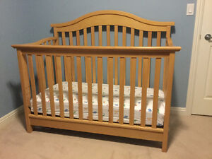Solid Maple Crib and matching Change Table