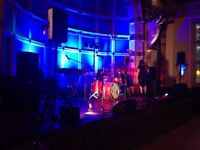 PA and Stage Lighting hire for BANDS or DJs