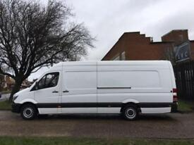 2015 64 MERCEDES-BENZ SPRINTER 2.1 313CDI XLWB HIGH ROOF 129BHP NEW SHAPE. LOW 8