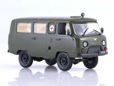Used, UAZ-452A Ambulance Soviet Microbus 1965 Year 1/43 Scale Collectible Model Car for sale  Shipping to United States