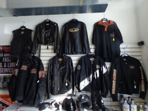 Harley Jackets and other goodies at recycledgear.ca