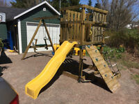 Wooden Swing Set 4Sale!