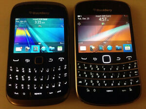 Unlocked Blackberry bold and curve