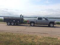 Brothers Property Care, Dump trailer services