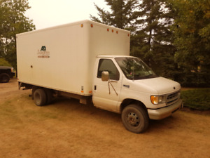 Ford E350 Cube Truck