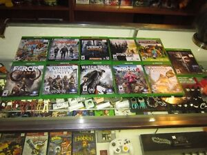 Various X BOX ONE Games For Sale