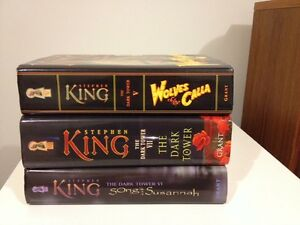 STEPHEN KING First Edition hardcovers