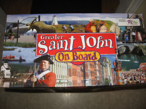 Greater Saint John On Board Monopoly Game