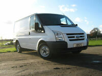 Ford Transit 2.2TDCi SWB l/r 2007/07 LOOKS AND DRIVES SUPERB * twin side doors *