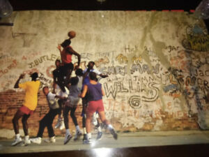 Michael Jordan play ground poster from 1989.