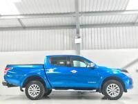 MITSUBISHI L200 BARBARIAN AUTOMATIC ONLY 13,000 MILES 2.4DI-D 4WD 2016 AUTO BLUE