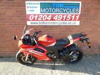 KEEWAY RKR125 SPORTS MOTORCYCE FINANCE FROM £100 DEPOSIT