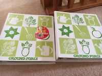 BBC Ground Force Gardening Folders Books