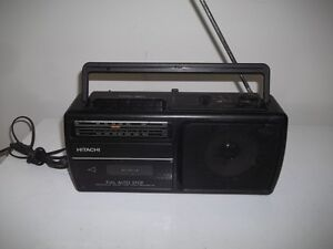 Radio With Cassette Deck