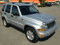 JEEP LIBERTY 4X4 LIMITED CRD 2006 ( !! 165000KM. DIESEL !! )