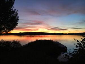 Chalet - Bord du Lac Sept-îles (près de Québec)