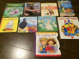 Lot of 9 Various Kids Board Books - Great condition!