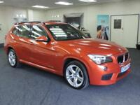 2014 BMW X1 SDRIVE18D M SPORT + CREAM LEATHER + IMMACULATE + ESTATE DIESEL