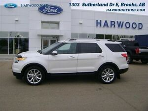 2014 Ford Explorer Limited   - LIMITED - NAVIGATION - $195.27 B/