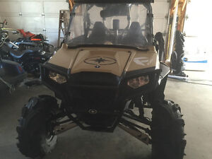 Big SWINGING D RZR 800!!!! Limited edition desert tan