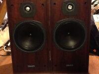 Tannoy English bi wire speakers