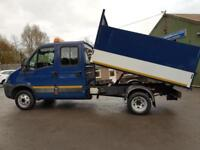 2010 Iveco Daily 35C11 Double Cab 7 Seat Tipper