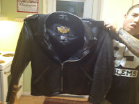 Harley Davidson XXL leather jacket