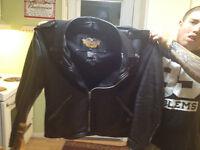 Harley Davidson XXL leather jacket