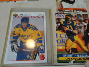 1990's Sports cards 14 total - Hockey, Baseball & Football Kitchener / Waterloo Kitchener Area image 6