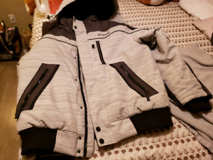2xl parka with removable hood for sale