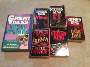 6 Stephen King Books For Sale!