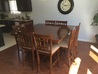 Pub Style Dining Set for 8 - Almost New!!
