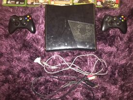 Xbox 360 with 5 games