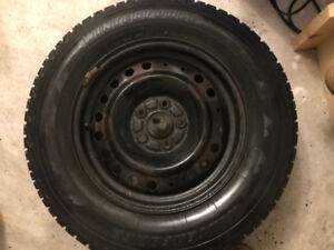 215/70/R16 winter tires and rims