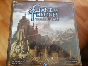 Game of Thrones Board Game (sealed)