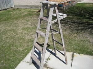 5 foot wood step ladder