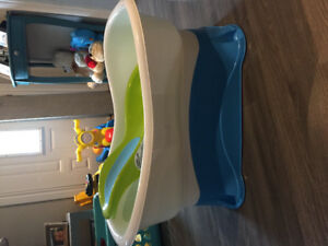 Right height bath centre baby tub