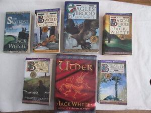 7 Jack Whyte Books