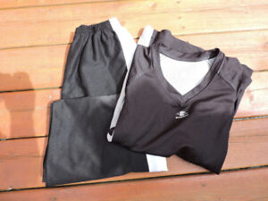 Ringette pants and jersey