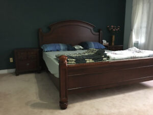 King Size Bed and Set