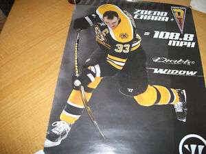 "Poster 2012 Zdeno Chara 108.8  Mph Daible Widow  24""x 18"" (Y157)"