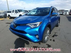 2016 TOYOTA RAV4 LIMITED 4D UTILITY AWD 2.5L LIMITED