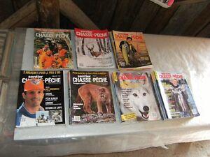 Belle collection de revues Chasse et Pêche