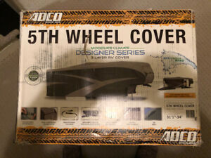 RV 5th Wheel Designer Series Cover with Aquashed