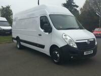 4ec697c8422d19 2018 Vauxhall Movano 2.3 CDTi BiTurbo H3 Van 163ps  EURO 6  Diesel white  Manual