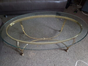 thick glass coffee tables