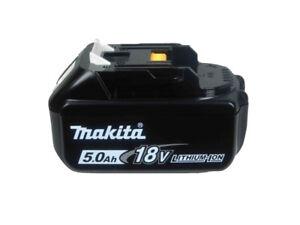 BRAND NEW- MAKITA 18V (5.0 Ah) Lithium-Ion Battery